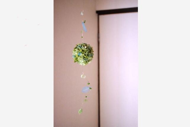 紫陽花ボール