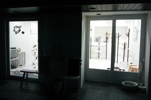 「ハナ・キノミ」展示店内・外観