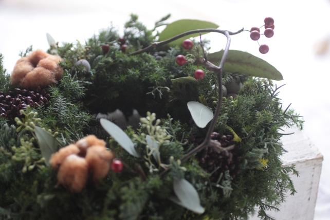 リース・生花・針葉樹のクリスマスリース
