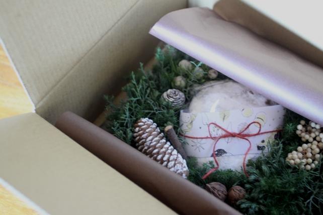 クリスマスボックス「森のかおり」梱包