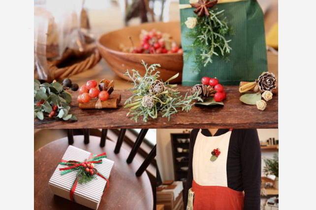 冬の贈りもの展・小さな植物の飾りたち