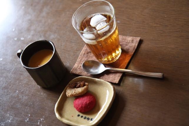 レッスン茶菓子