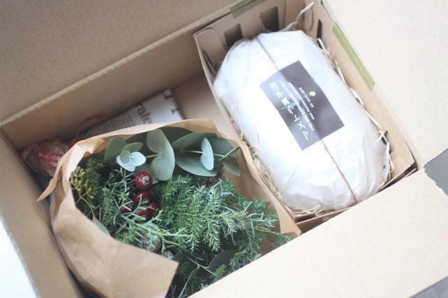 クリスマスギフトセット、発送の様子